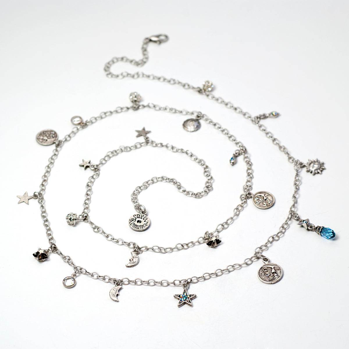 Celestial Charm Necklace N1641 - Sweet Romance Wholesale
