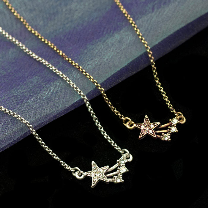 Shooting Star Necklace N1642 - Sweet Romance Wholesale
