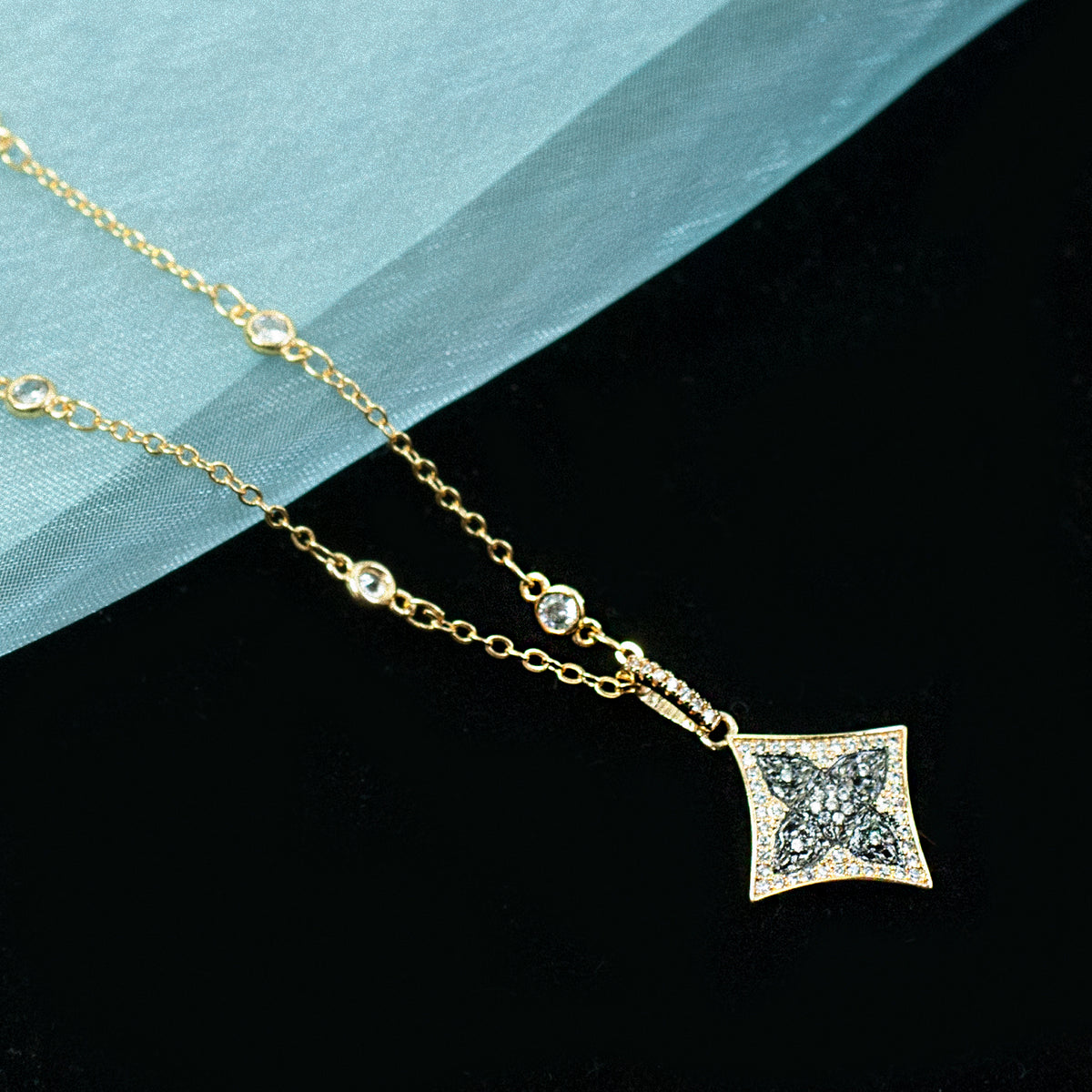 Retro Star Necklace N1708 - Sweet Romance Wholesale