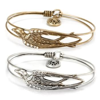 Bird Bangle Bracelets OL_BR351 - Sweet Romance Wholesale