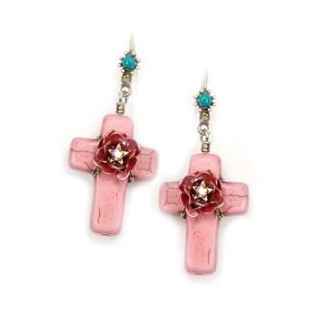 Pueblo Crosses Earrings OL_E276 - Sweet Romance Wholesale