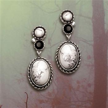 Earthstone Western Desert Earrings