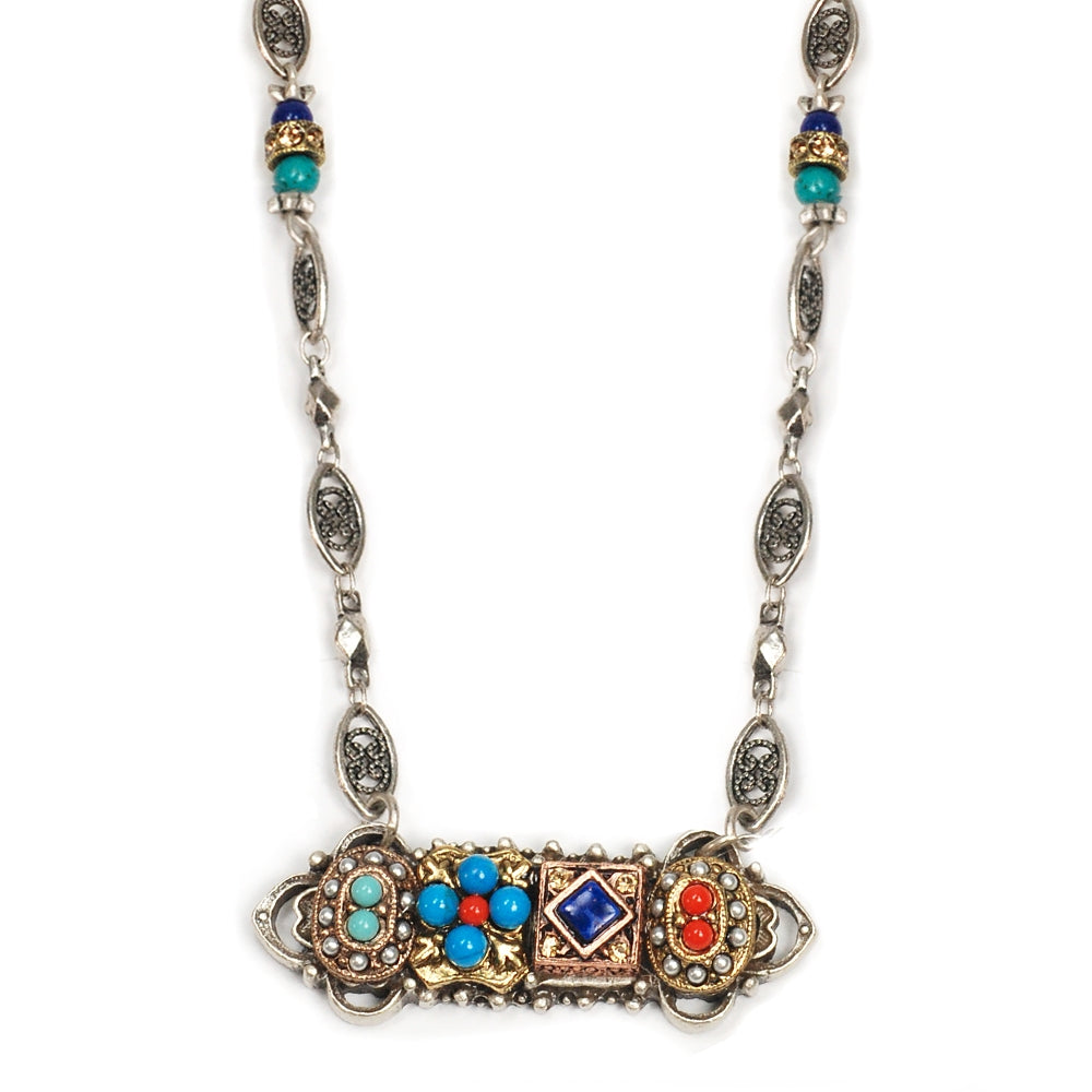 Desert Gypsy Bar Necklace N298