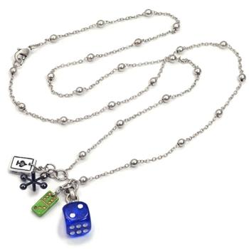 Games of Chance Lucky Charm Necklace N319 - Sweet Romance Wholesale