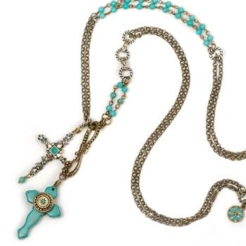 Doublecrosser Southwest Necklace N349 | Sweet Romance