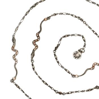 Baby Snakes Chain Necklace OL_N363 - Sweet Romance Wholesale