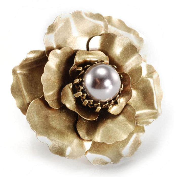 Camellia Flower Pin OL_P107 - Sweet Romance Wholesale