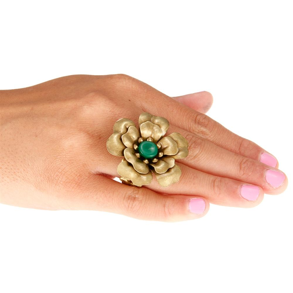 Camellia Ring OL_R103 - Sweet Romance Wholesale