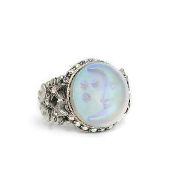 Opalescent Moon Ring R423