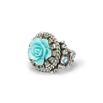 Carved Rose Ring R434