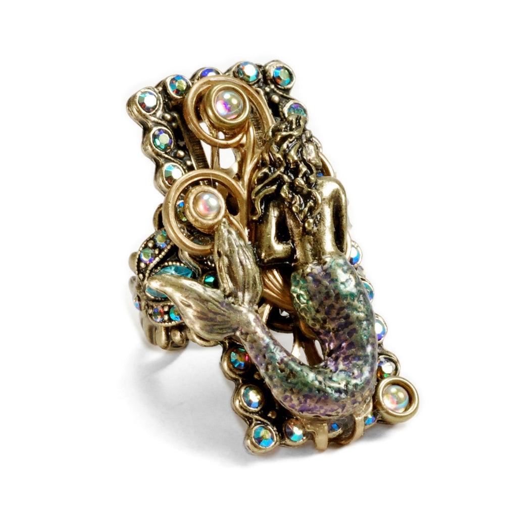 Mermaid Sea Life Ring - Sweet Romance Wholesale