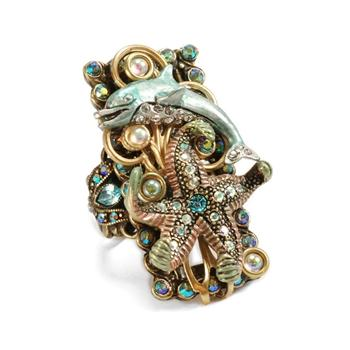 Dolphin Sea Life Ring - Sweet Romance Wholesale