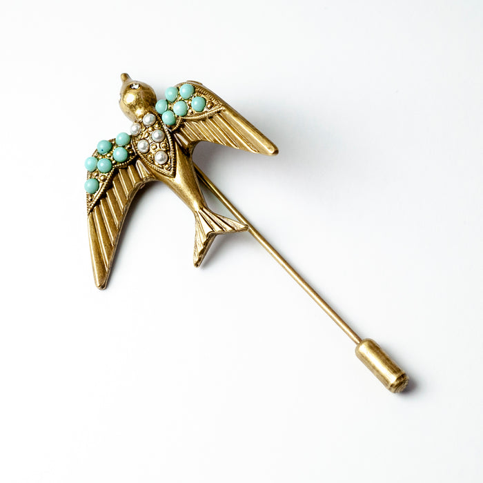 Flying Swallow Pin P671 - Sweet Romance Wholesale