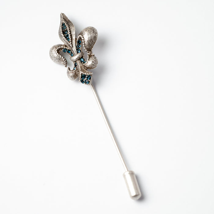 Fleur de lis Hat Pin P673 - Sweet Romance Wholesale