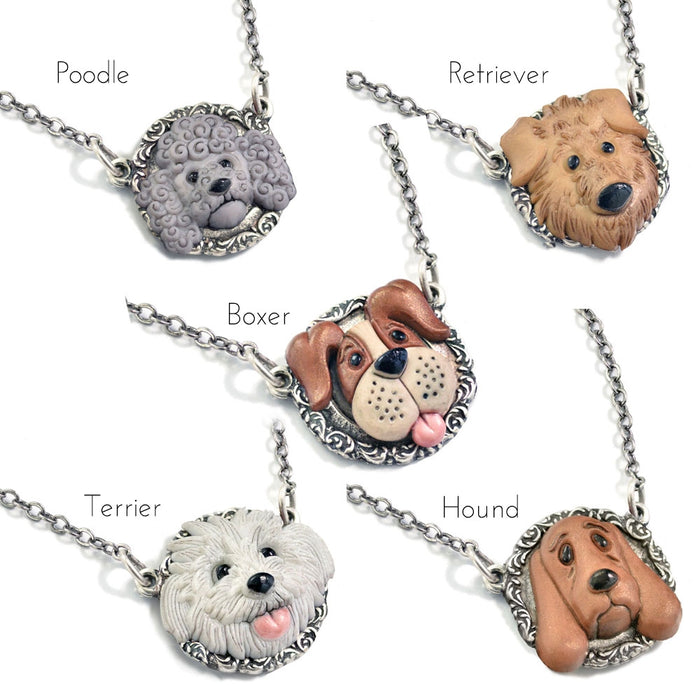 10 Dog & Cat Lovers Necklaces PREPAKN1542-N1543 - Sweet Romance Wholesale
