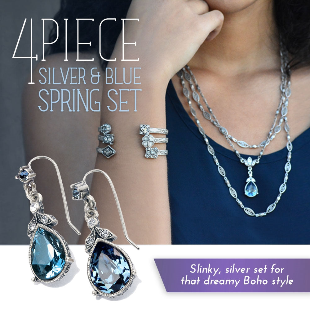 Spring Silver & Blues DEAL - Sweet Romance Wholesale