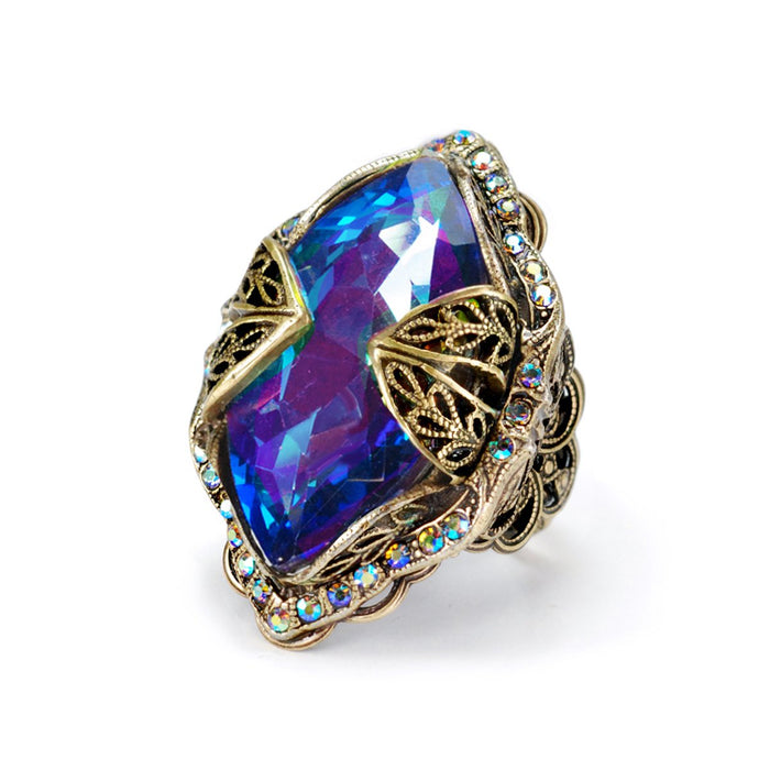 Marquis Jewel Statement Ring R514 - Sweet Romance Wholesale