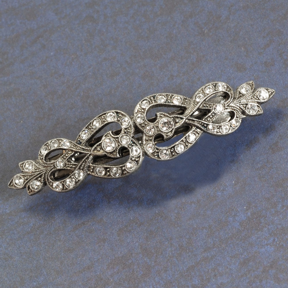 French Knot Barrette