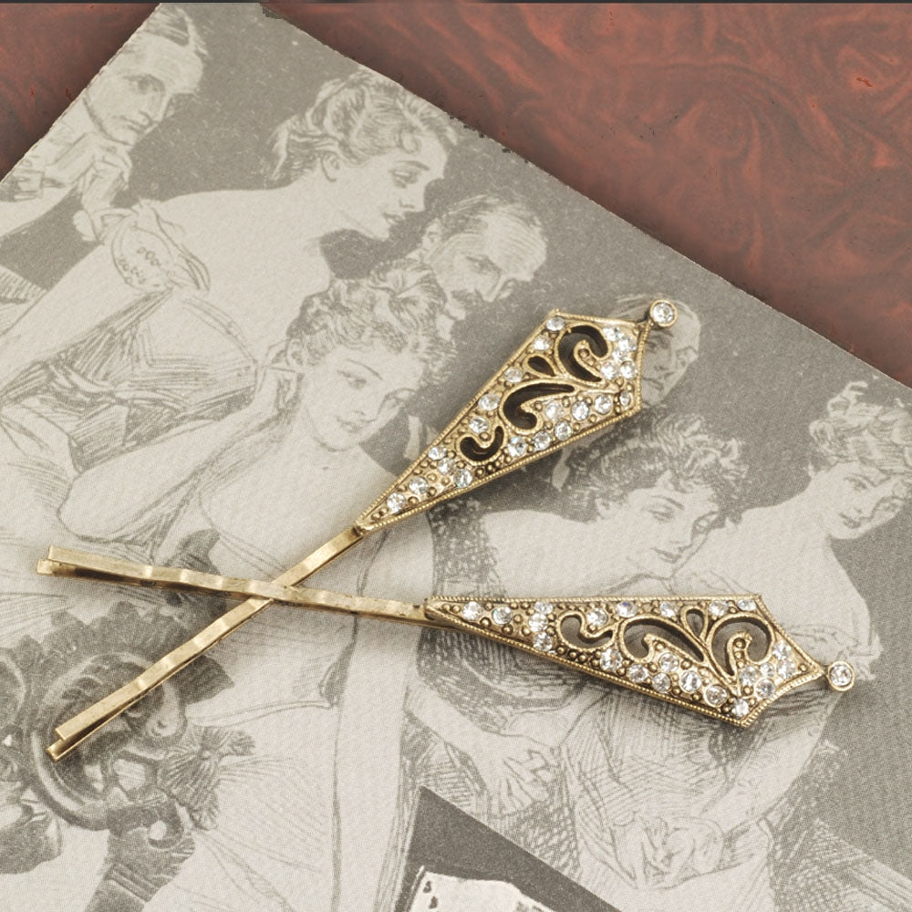 Victorian Tapered Bobby Pins BP217 - Sweet Romance Wholesale