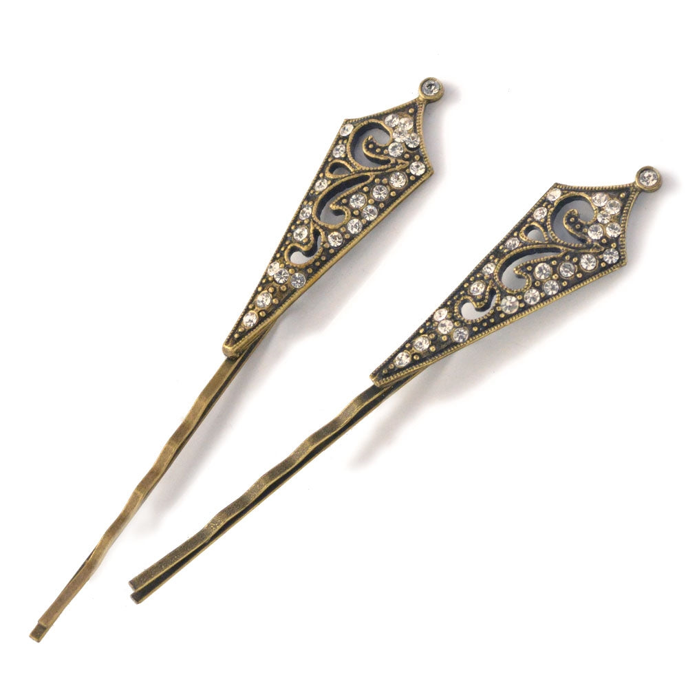 Victorian Tapered Bobby Pins - Sweet Romance Wholesale