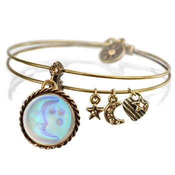 Moon Change Bangle BR346 - Sweet Romance Wholesale