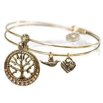 Wisdom (Tree of Life) Bangle - Sweet Romance Wholesale
