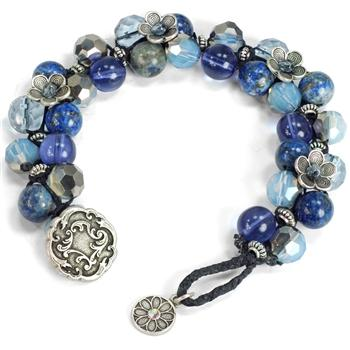 Cabrillo Beach Beaded Bracelet