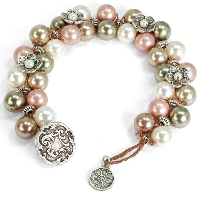 Cabrillo Beach Beaded Bracelet BR445 - Sweet Romance Wholesale