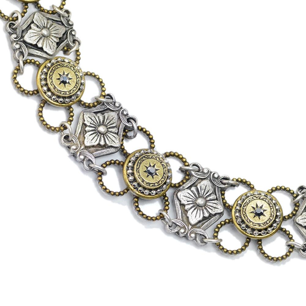 Victorian Mini Medallion Bracelet - Sweet Romance Wholesale