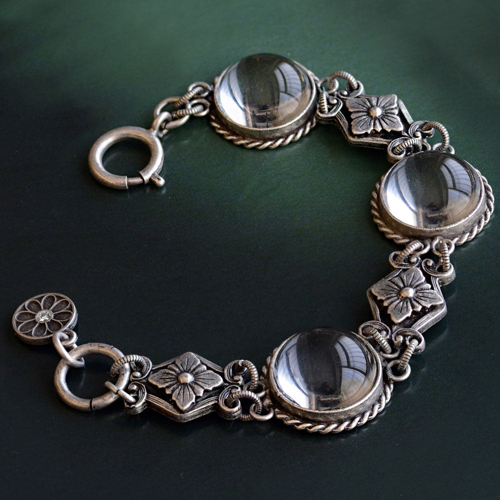 Pools of Light Crystal Orb Bracelet - Sweet Romance Wholesale