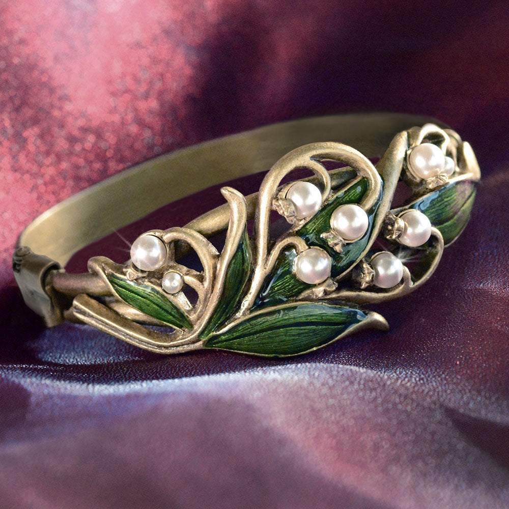 Lily of the Valley Bracelet BR585 - Sweet Romance Wholesale