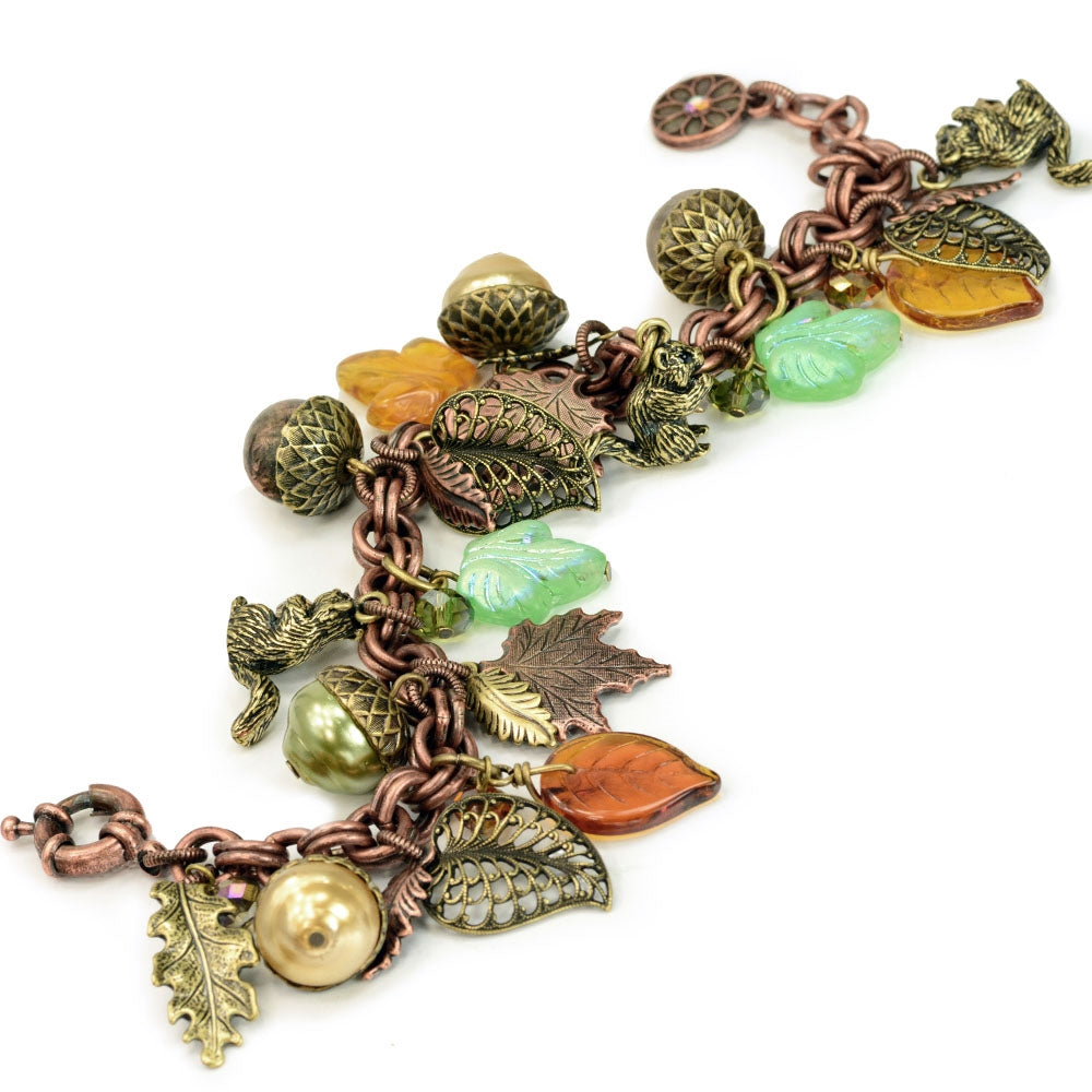 Squirrel's Harvest Bracelet - Sweet Romance Wholesale