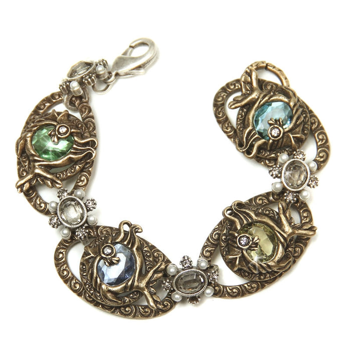 Treasures of the Sea - Set Of 3 Bracelets BR677-SEA - Sweet Romance Wholesale