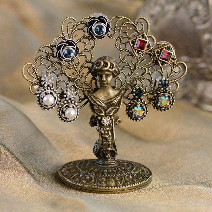 Vault Find: Vintage Earring Holder with 4 pr Studs D1020-C - Sweet Romance Wholesale