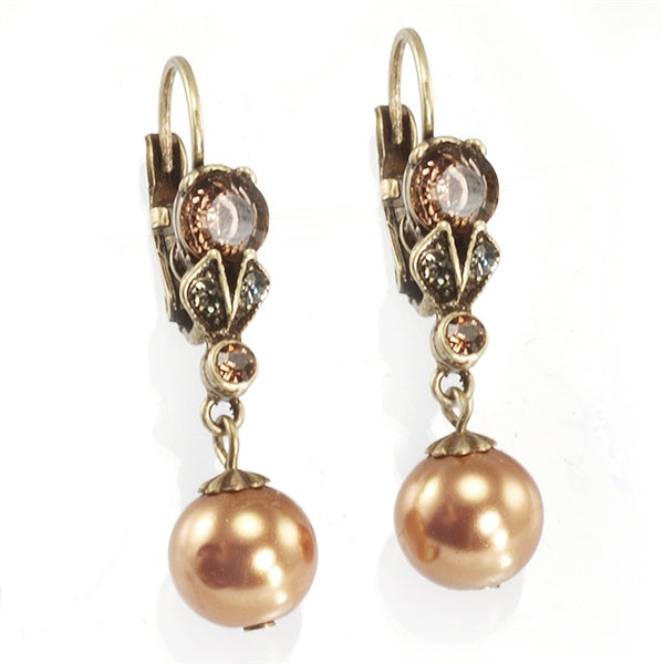 Classic Vintage Pearl Earrings