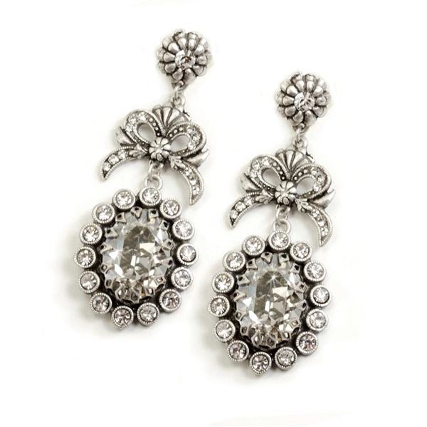 Katarina Crystal Earrings - Sweet Romance Wholesale