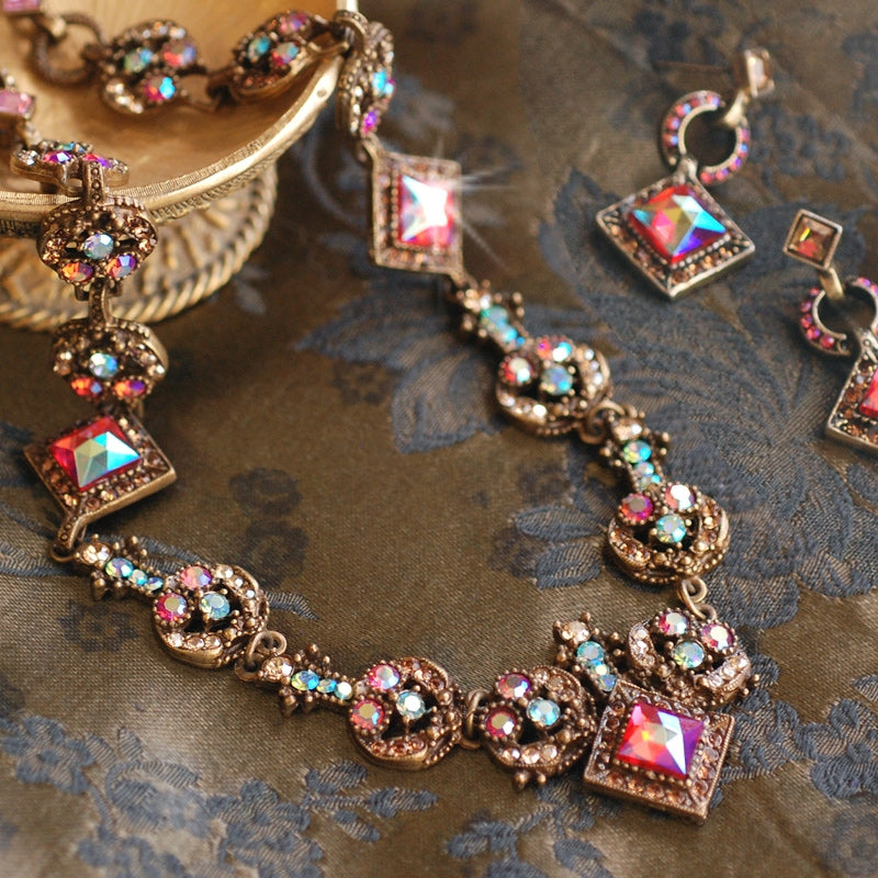 Vintage Glamour Earrings E1103-PA - Sweet Romance Wholesale
