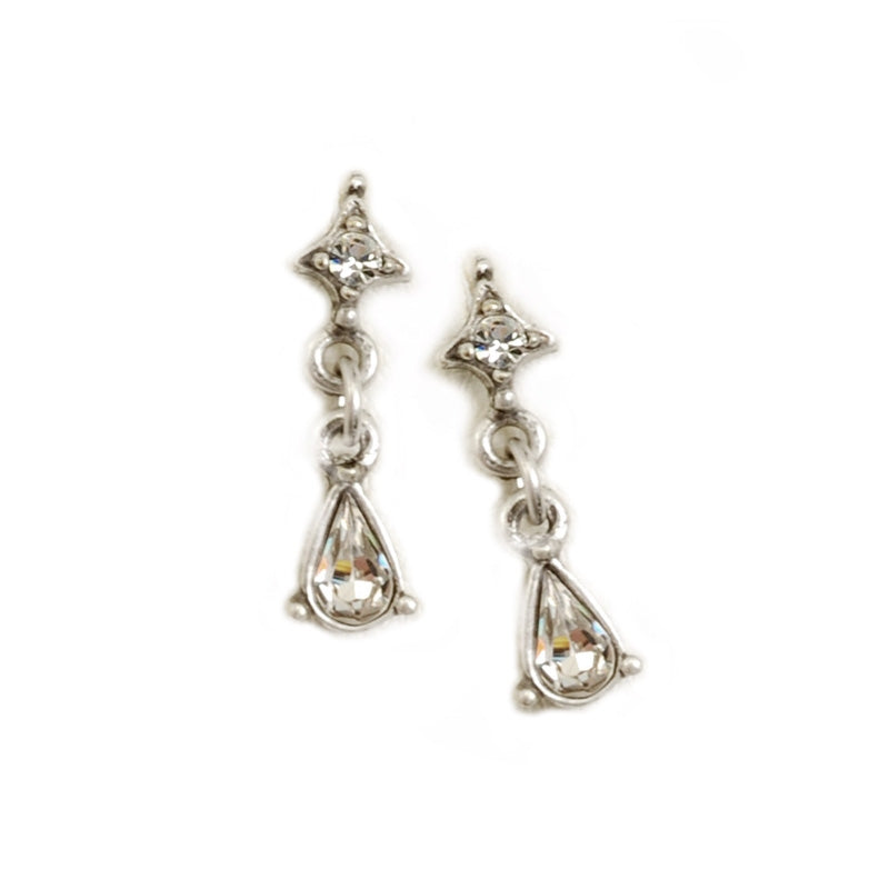 Petite Crystal Earrings - Sweet Romance Wholesale