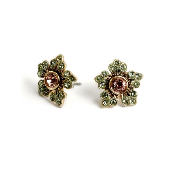 Jasmine Flowers Stud Earrings E1152 - Sweet Romance Wholesale