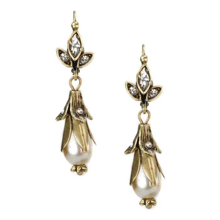 Lily Pearl Earrings - Sweet Romance Wholesale