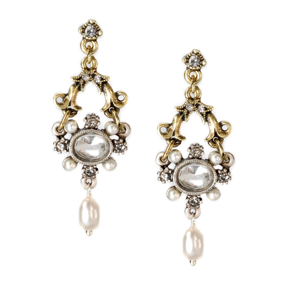 French Crystal Lorraine Earrings - Sweet Romance Wholesale