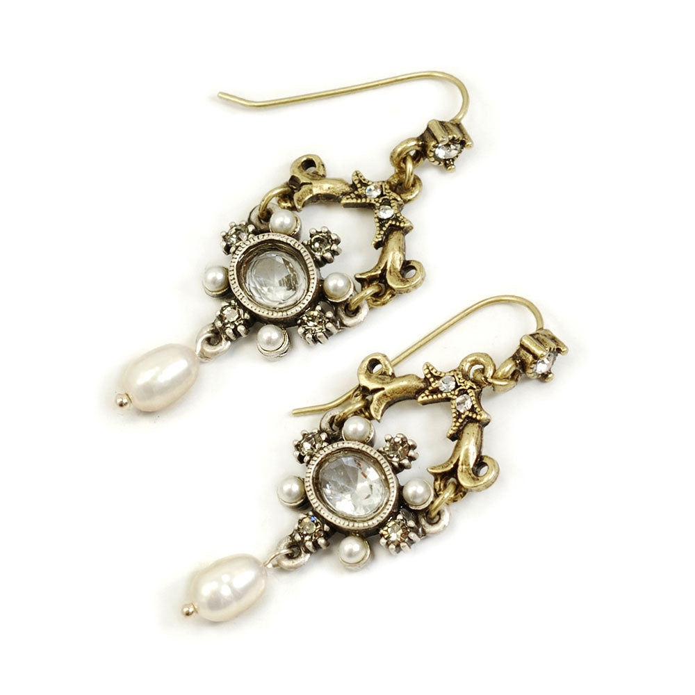 French Crystal Lorraine Earrings