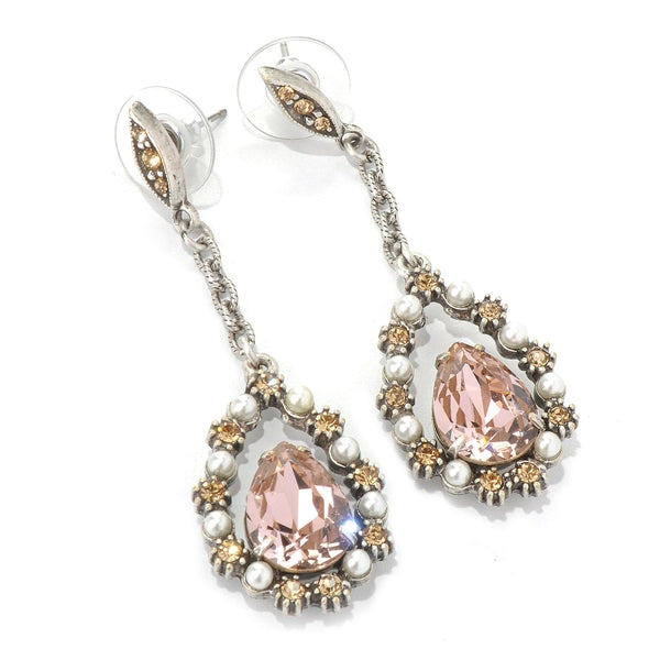 Crystal Lorena Earrings E1197 - Sweet Romance Wholesale