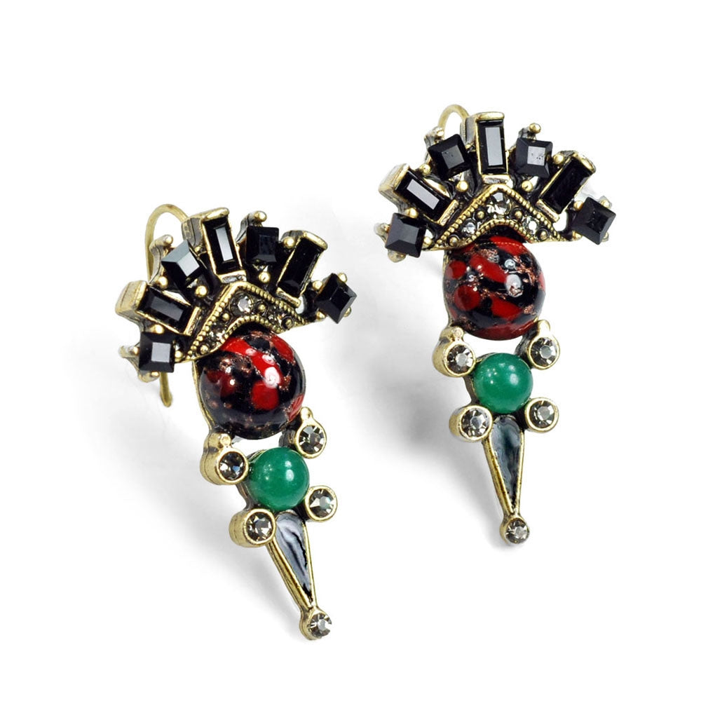 British Regalia Earrings E1202 - Sweet Romance Wholesale