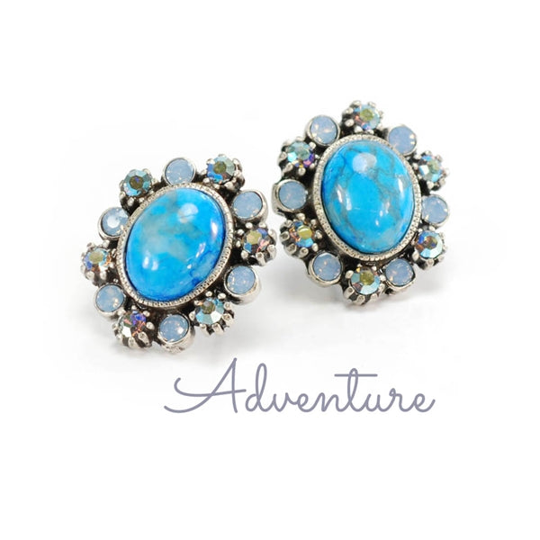 Geneva Jewel Earrings E1260 - Sweet Romance Wholesale