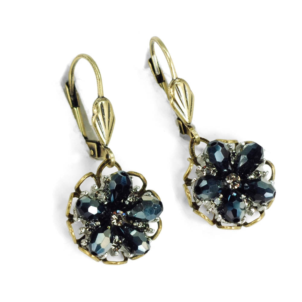 Ocean Flower Earrings E1302