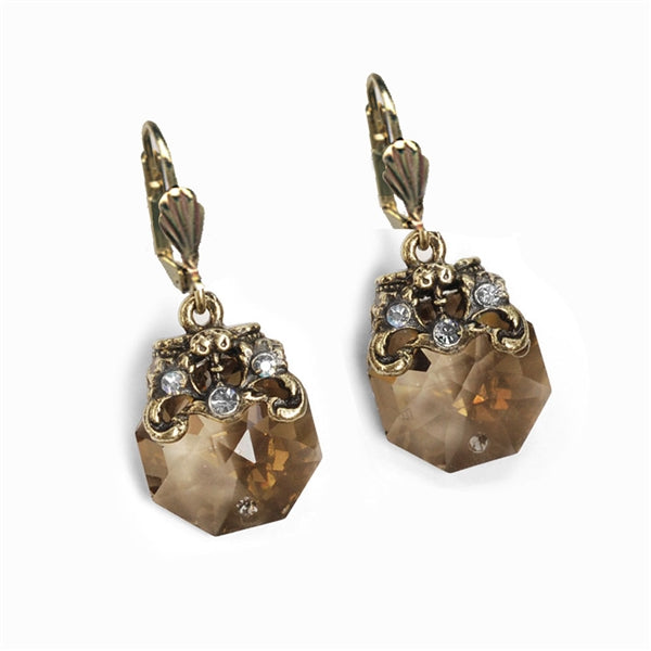 Crystal Prism Dainty Earrings E1303