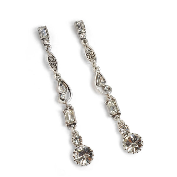 Linear Galaxy Earrings - Sweet Romance Wholesale