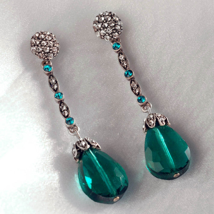 Glamour Teardrop Earrings - Sweet Romance Wholesale