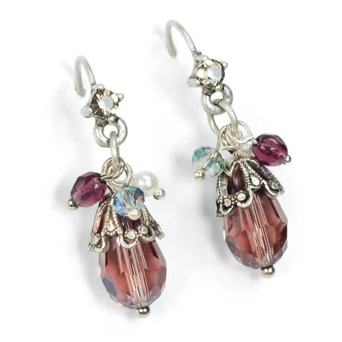 Ocean Cluster Earrings E1355 - Sweet Romance Wholesale